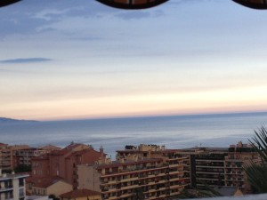 Another photo from M. Rizo's balcony, the apartment overlooks the Mediterranean Sea. Just gorgeous.