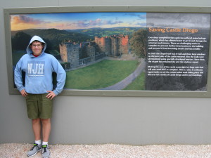 """We visited Castle Drogo today. Not really a """"castle"""" but more of a house built to look like a castle from the outside."""