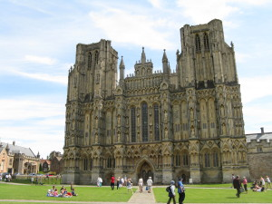 We traveled with my friend Andrew and his wife Helen to Wells and toured an absolutely gorgeous cathedral. I love visiting castles and cathedrals.
