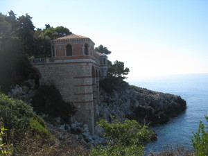 Today I bet we walked at least 12 kilometres because the path we took from Menton to Monaco is 8km. Once we finished this walked we wandered all over Monaco which has lots of hills. The photo above is from a spot on our way into Monaco. It was a terrific walk.