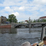 On our canal tour I think I heard that there are approximately 2500 bridges in Amsterdam.