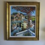 Artiste: Jean Triolet Titre: Le clos de la treille