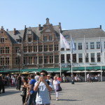 I really loved the town square so I'll indulge myself with posting several photos of it!