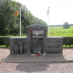 """This monument is for the 101st Airborne which helped defend Bastogne. The book/HBO series """"Band of Brothers"""" was based in part on the experience of soldiers from this unit."""
