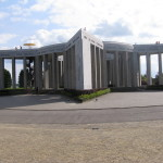 In Bastogne there was a beautiful monument to the battle and an absolutely outstanding museum that we could have easily spend half the day at it.
