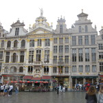 Today, Wednesday, we took a three hour walking tour of Brussels that was excellent.  The photo above and several of the photos below are of the beautiful Grand-Place. Brussels is a stunning city that as I understand it is off the beaten track for tourists which surprises me.